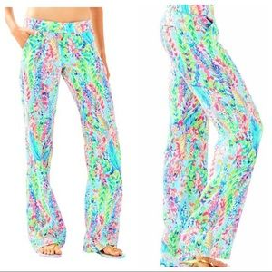 NWOT Lilly Pulitzer linen beach pants